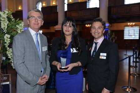 Saria Bashir receives CILEx Pro Bono award
