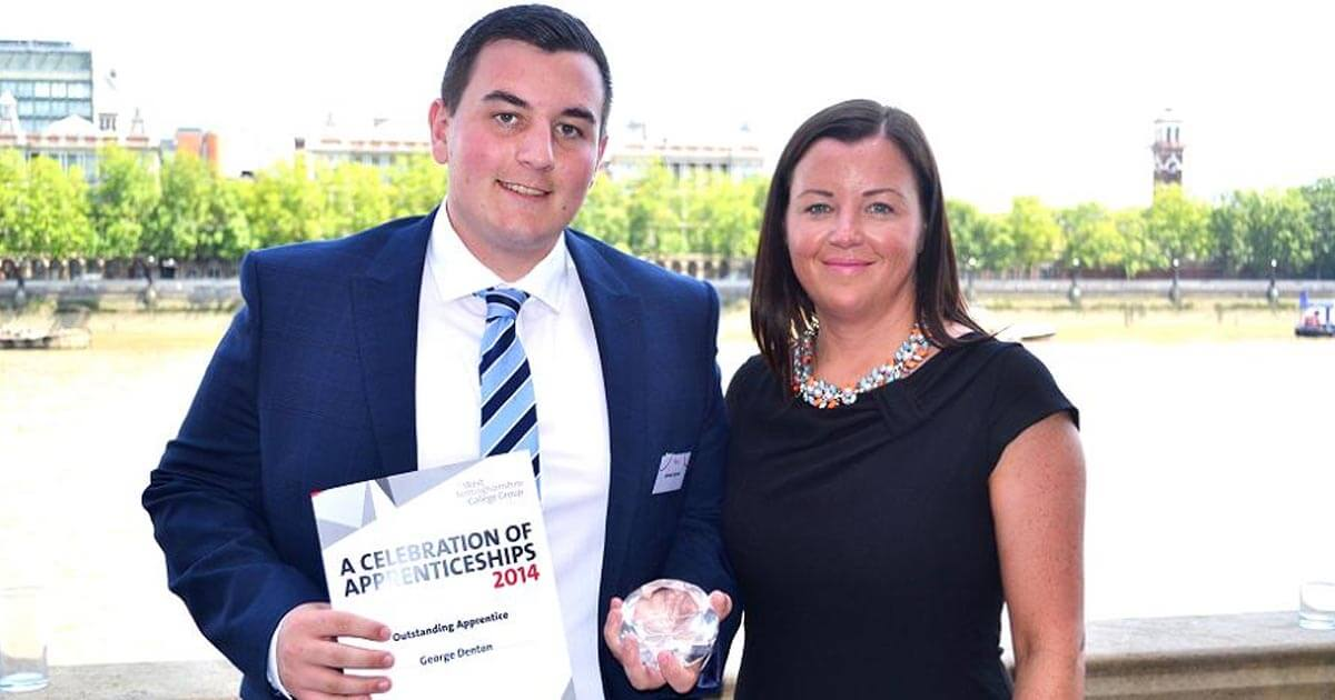 Apprentice honoured at House of Lords Award Ceremony