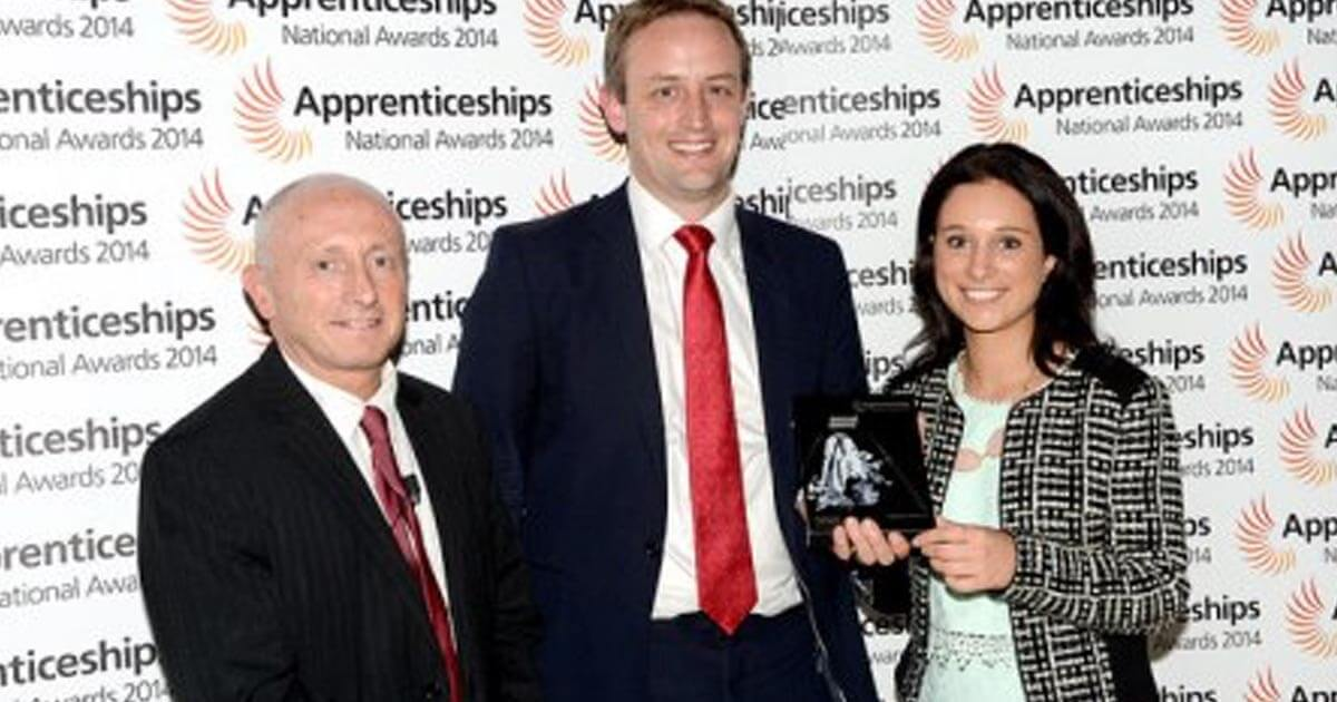 Addleshaw Goddard LLP wins National Apprenticeship Award