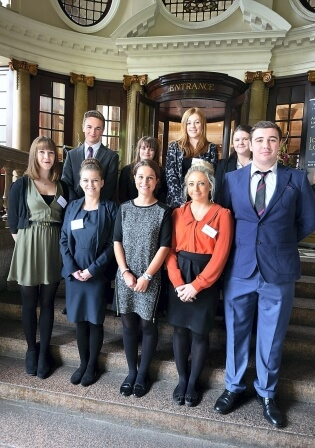 Ten Legal Services Apprentices join International Law Firm Addleshaw Goddard