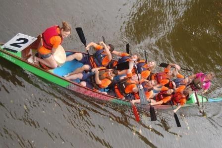 CILEx Legal Eagles participate in Bedford's Dragon Boat Race