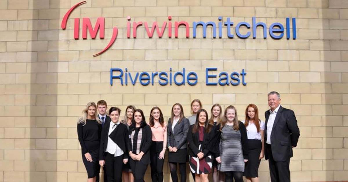 Nine new legal apprentices join Irwin Mitchell