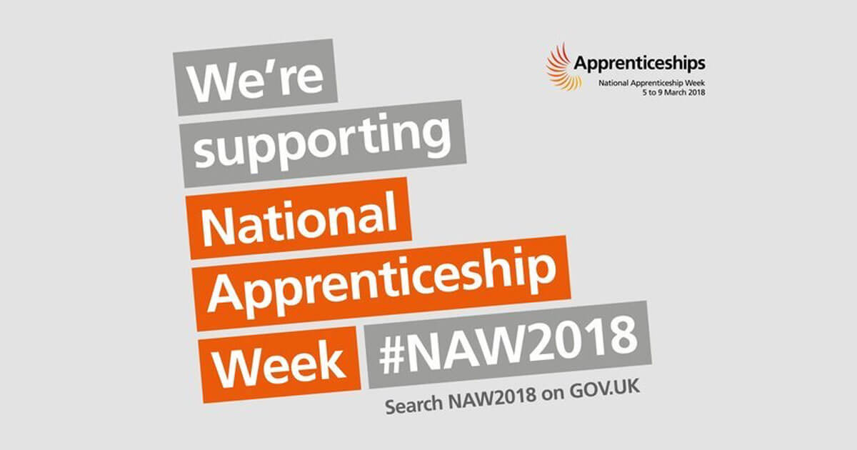 We are supporting National Apprenticeship Week 5-9 March