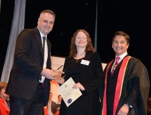 Ruth Hendry awarded CILEx Student of the Year 2012
